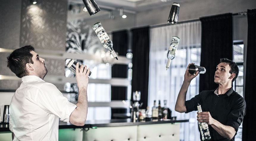 hire flair bartenders London