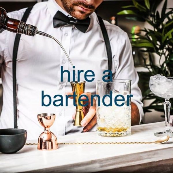 bartenders for hire at home London