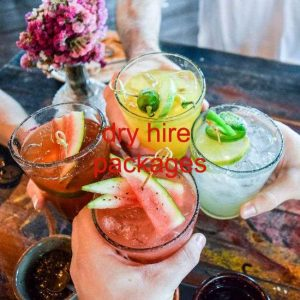 dry hire cocktail package London