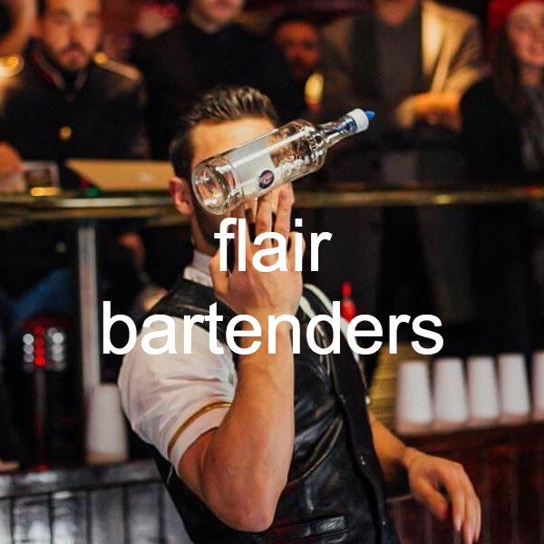 flair bartenders London