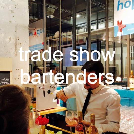 trade show bartenders for hire London