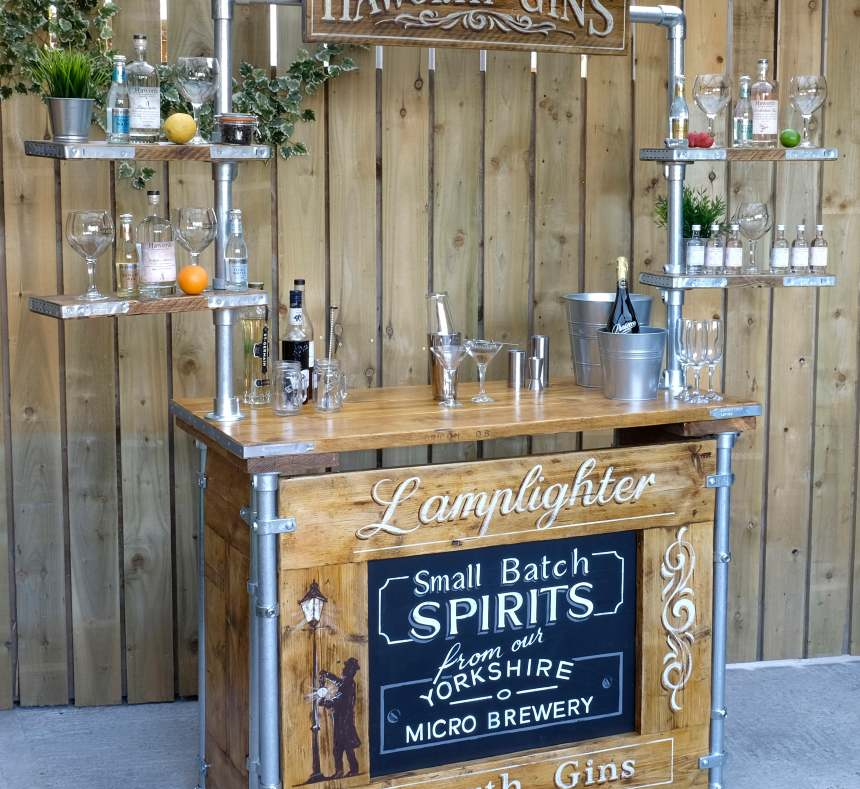 hire a bar at home London